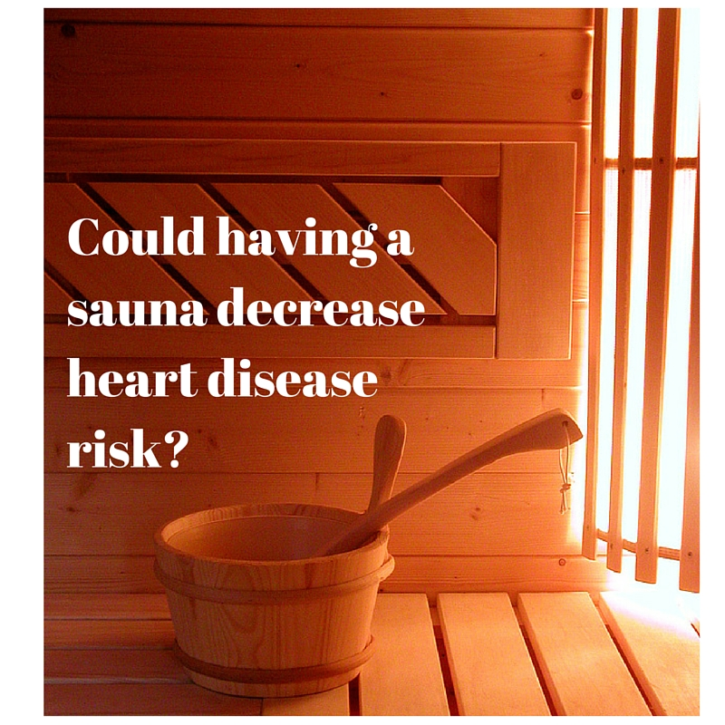 Could having a sauna decrease your risk of heart disease?