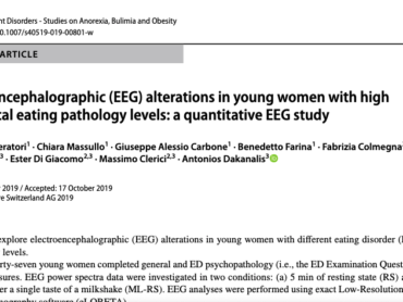Electroencephalographic (EEG) alterations in young women with high subclinical eating pathology levels: a quantitative EEG study
